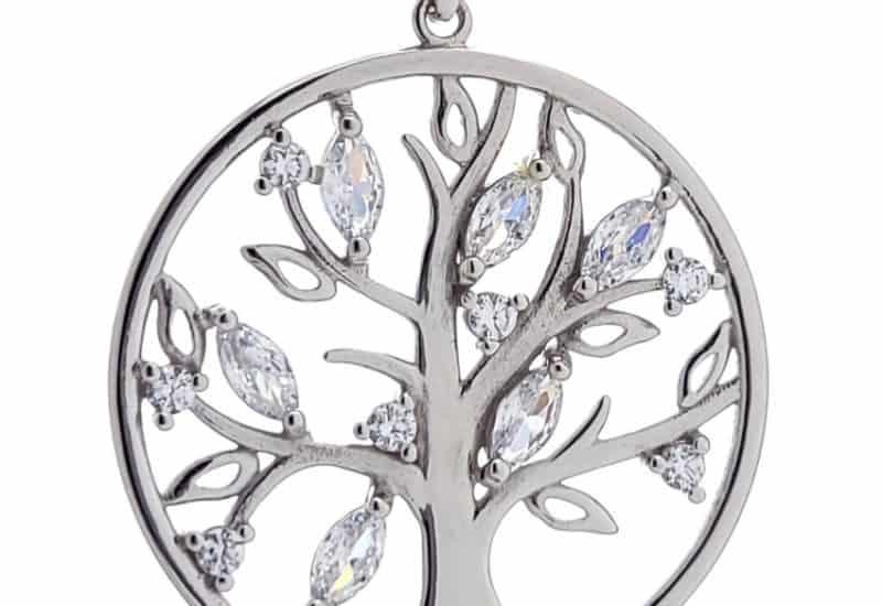 Colgante árbol de la vida con cadena de 40 centímetros