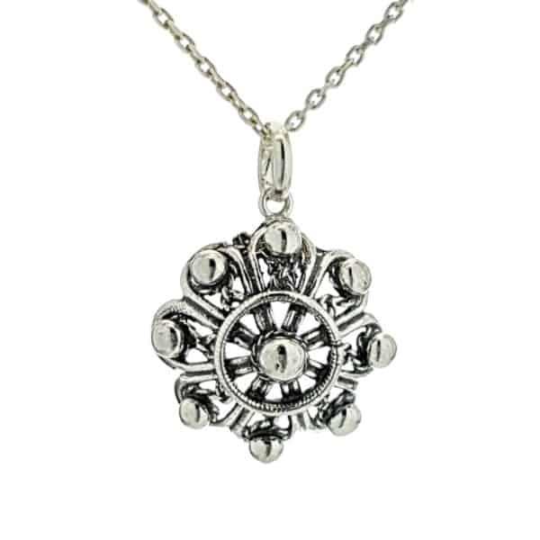 Botón Charro en plata 925 (1) rf. 120045346