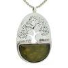 Colgante árbol de la vida de jade en plata 925 (3)