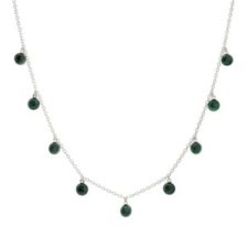 collar gargantilla chapas de malaquita en plata (5)