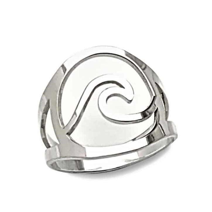 Anillo ola de plata 925 (1)