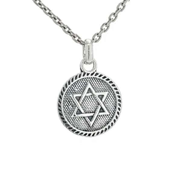 Colgante Estrella de David - Sello de Salomón