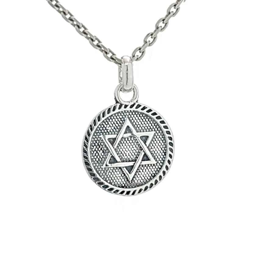 Colgante Estrella de David – Sello de Salomón