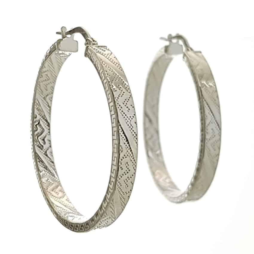 Aros greca plata 925 (6)
