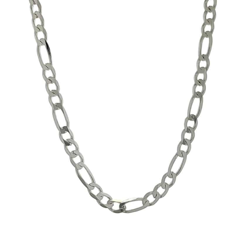 Cadena Cartier de plata 925 en 60 cms x 4 mm (3)