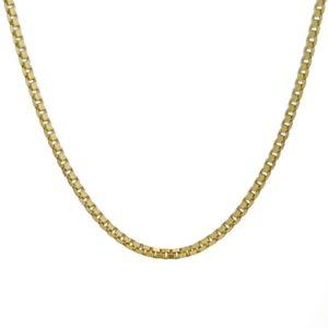 Cadena Veneciana fina color oro de 45 cms.