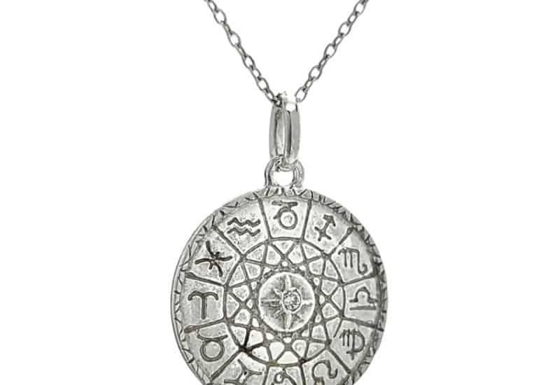 Colgante y gargantilla de los signos zodiacales en plata 925