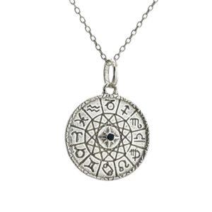 Colgante y gargantilla signos del zodiaco en plata 925