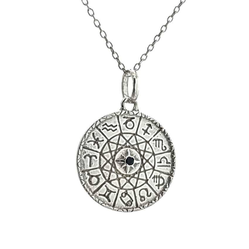 Colgante de los signos zodiacales en plata 925 (3)