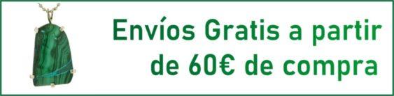 Envíos gratis a partir de 60 € de compra