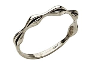 anillo diseño ondas en plata 925 (1)