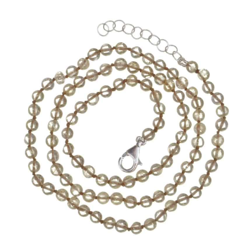 collar cuarzo citrino de 45 cms y bolas de 4 a 5 mm (2)