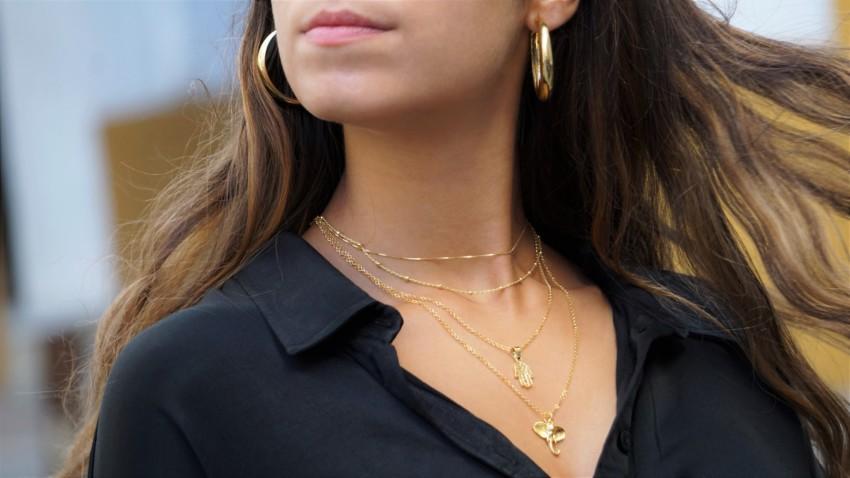 Tus joyas en plata, ahora también chapadas en oro, las tienes en LaMinadePlata.com