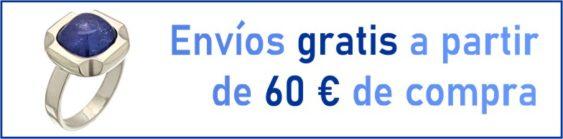 Envíos gratis a partir de 60 euros de compra