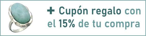 + Cupón regalo con el 15% de tu compra