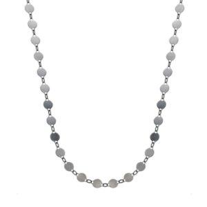 Gargantilla collar chapas plata 925 adaptable a choker