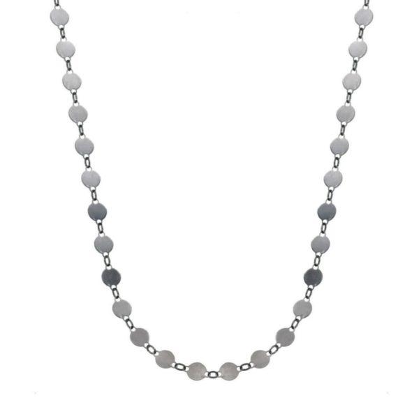 gargantilla collar chapitas plata 925 adaptable a choker (6)