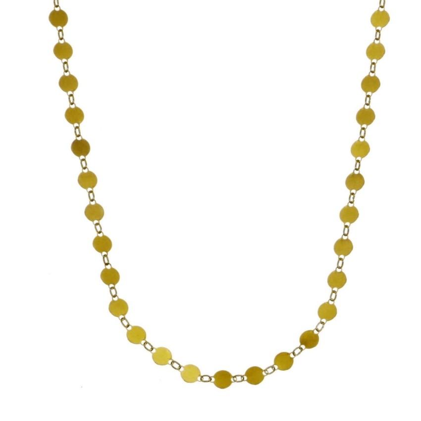 gargantilla collar chapitas plata chapadas en oro adaptable a choker (15)