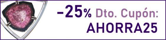 - 25 % descuento con cupón AHORRA25