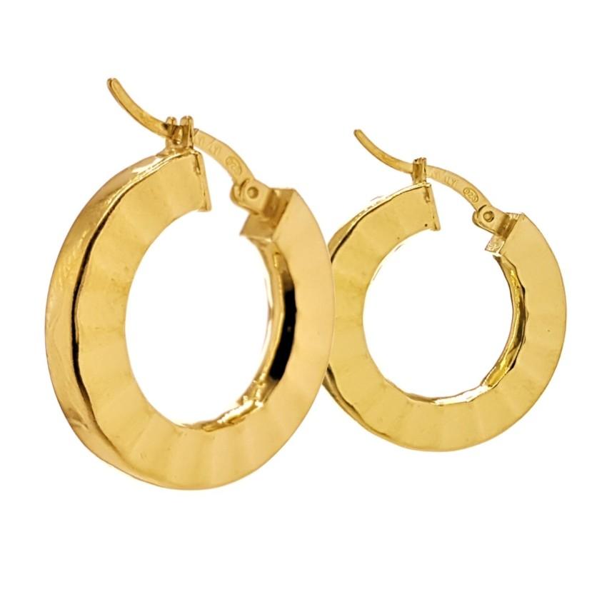 Argollas diseño en abanico de plata 925 chapadas en oro (1)_LI