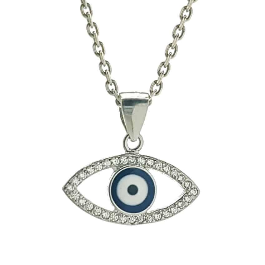 Colgante ojo turco con circonitas en plata 925 (4)