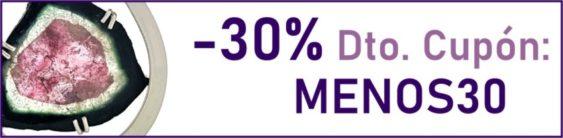Descuéntate el 30% a partir de 30 € de compra