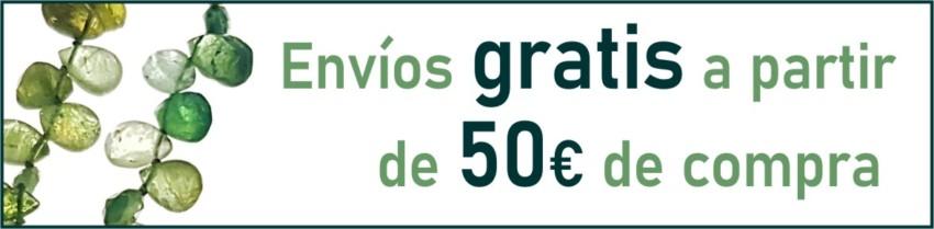 Envíos gratis a partir de 50 €