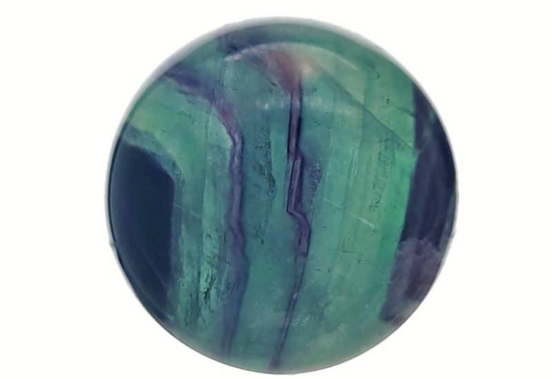Esfera de 35 mm. de diámetro de fluorita de Brasil