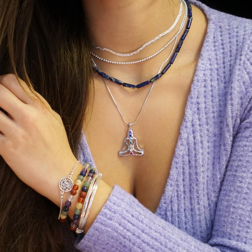 Ideas para lucir tus pulseras de los chakras