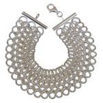 Pulsera cadena cota de malla en plata 925 (5)