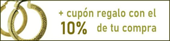 Además te regalamos el 10% de tus compras con un cupón acumulable.