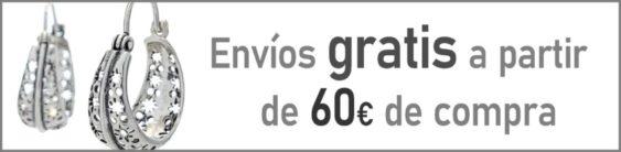 Envíos gratis a partir de 60 € de compra, y si no llega, el coste es tan solo 3,95 € en la Península