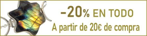 - 20 % DESCUENTO EN TODO